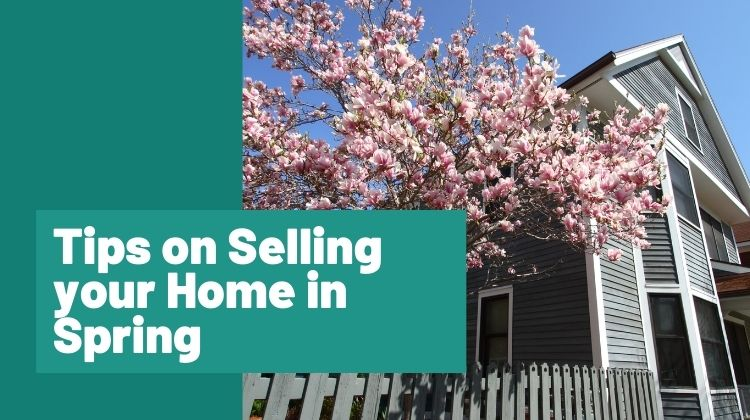 Tips on selling your home in spring
