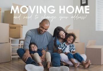 Moving house and need to change your address?