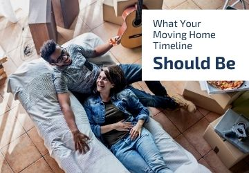 What your moving home timeline should be