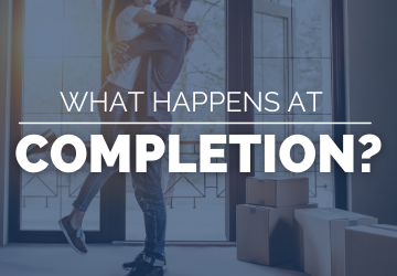 Completion | What happens at completion?
