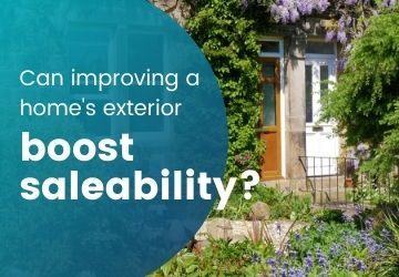 Can improving a home's exterior boost saleability?