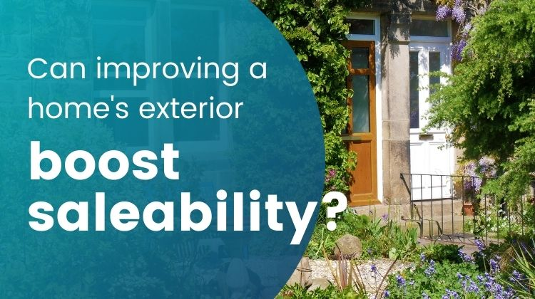Can improving a home's exterior boost saleability