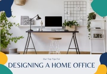 Our top tips for designing a home office
