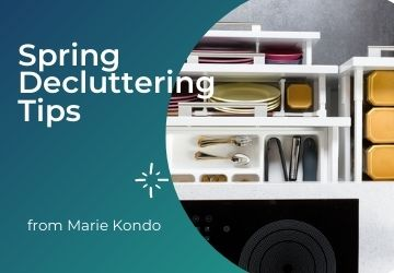 Spring Decluttering Tips from Marie Kondo