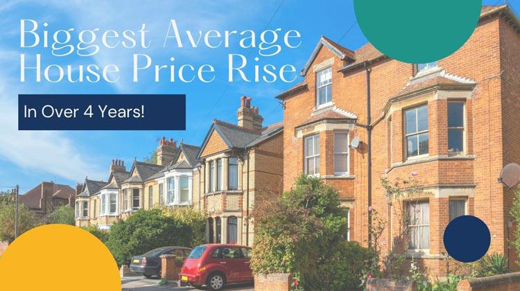 Biggest Average House Price Rise