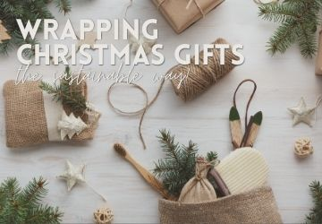 Wrapping Christmas Gifts The Sustainable Way