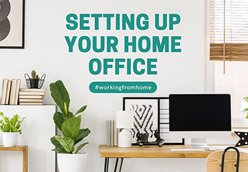 Setting Up Your Home Office   |   #workingfromhome