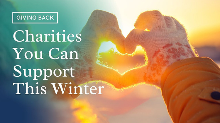 Charities You Can Support This Winter