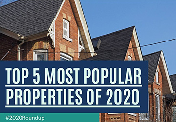 2020 Roundup | Top 5 Most Popular Properties of 2020