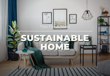 Tips for a more sustainable home