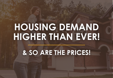 Housing demand higher than ever