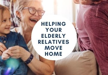 Helping Your Elderly Relatives Move Home
